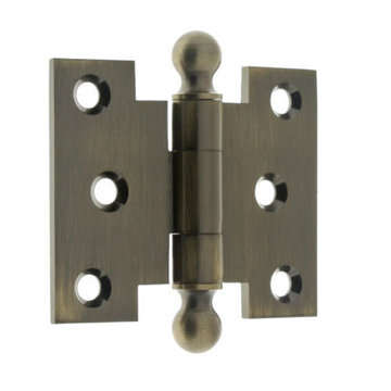 Idh By St. Simons 2 1/2 Inch X 3 Inch Parliament Hinge With Ball Finials