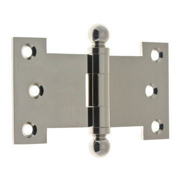 Idh By St. Simons 2 1/2 Inch X 4 1/2 Inch Parliament Hinge With Ball Finials