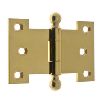 Idh By St. Simons 2 1/2 Inch X 4 Inch Parliament Hinge With Ball Finials