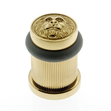 Idh By St. Simons Lion Head Bullet Door Stop