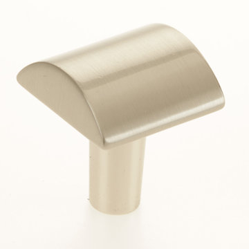 Contemporary Curved Face Knob