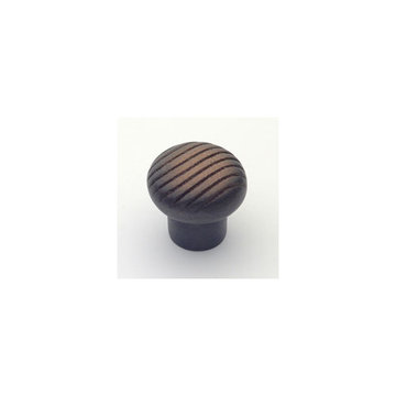 Classic Brass Canyon Collection Round Knob