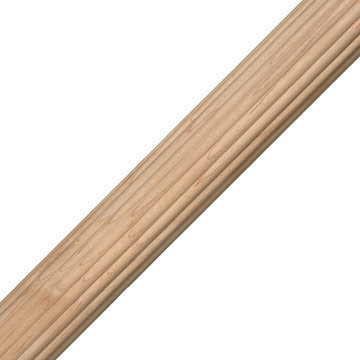 Reed Column Cabinet Molding