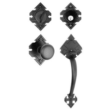 Acorn Adobe Mortise Door Lock Set