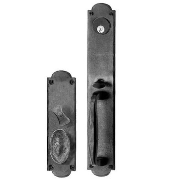 Acorn Arched Mortise Lock Handle To Knob Entrance Door Set