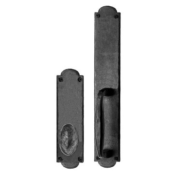 Acorn Arched Mortise Lock Handle To Knob Entrance Dummy Door Set