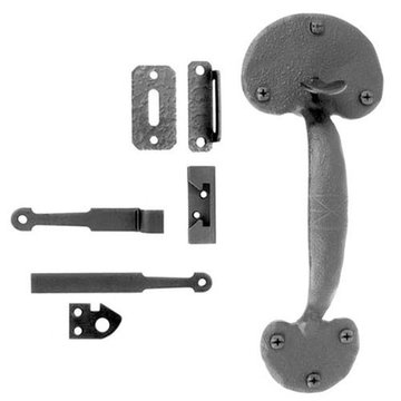 Acorn Gate Rim Latch With Bean End - For Gates 3 - 4 Thick