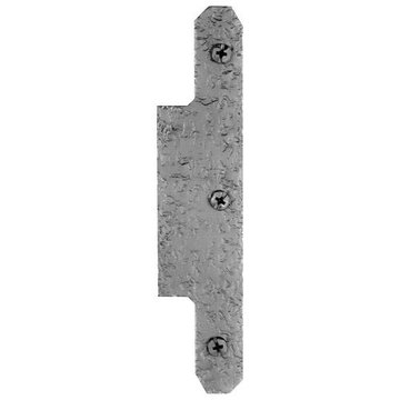 Acorn H Plate For Use With Full Mortise Butt Hinge - 7 Inch