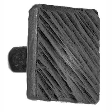 Acorn Iron Art Hammered Square Head Knob - 1 1/32 Inch