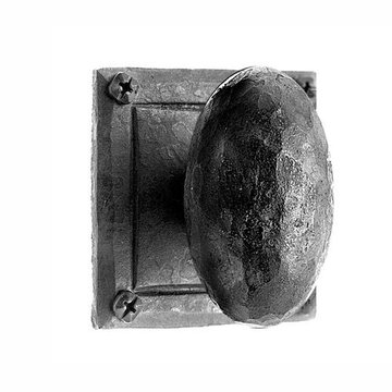 Acorn Iron Art Passage Door Knob Set