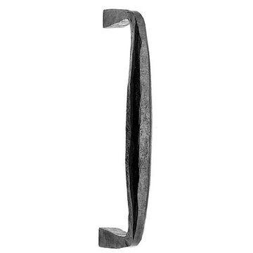 Acorn Iron Door Pull With Squared End - 10 Inch
