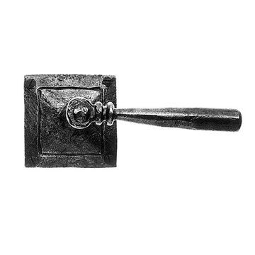 Acorn Lever Door Set With Square Rose