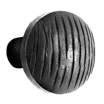 Acorn Lined Door Knob Only - 2 Inch Diameter