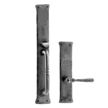 Acorn Mortise Lock Handle To Lever Entrance Dummy Door Set
