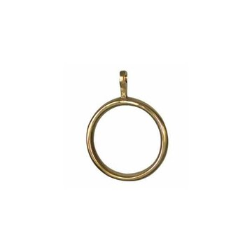 SOLID BRASS CURTAIN RINGS