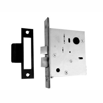 Acorn Mortise Skeleton Lock For Use With Knob And Turnpiece