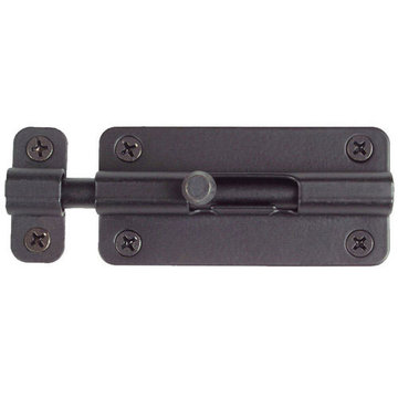 Acorn Slide Barrel Bolt - 4 Inch