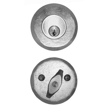 Acorn Stainless Steel Deadbolt Set For Pre-Drilled Doors