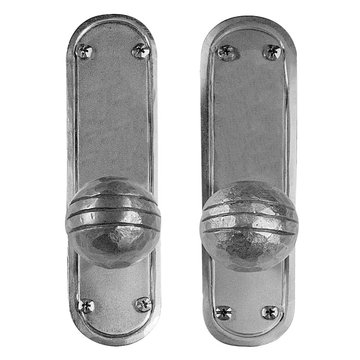 Acorn Stainless Steel Dummy Mortise Lock Entrance Door Set With Round Knobs