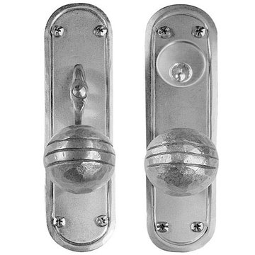 Acorn Stainless Steel Mortise Lock Entrance Door Set With Round Knobs