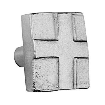 Acorn Stainless Steel Square Swiss Knob