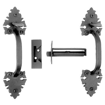 Acorn Warwich Mortise Latch Set With Double Handles
