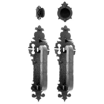 Acorn Warwick Double Handle Lock Set For Residential  Doors