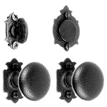 Acorn Warwick Double Knob Entrance Lock Set