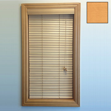 Restorers 1 Inch Horizontal Stained Basswood Blind - Natural