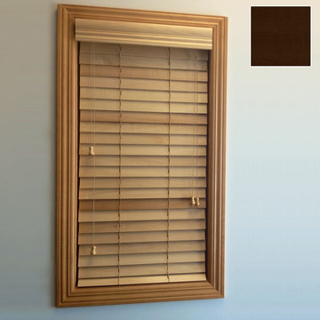 Restorers 2 Inch Horizontal Stained Basswood Blind - Espresso