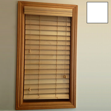 Restorers 2 1/2 Inch Horizontal Painted Basswood Blind - White