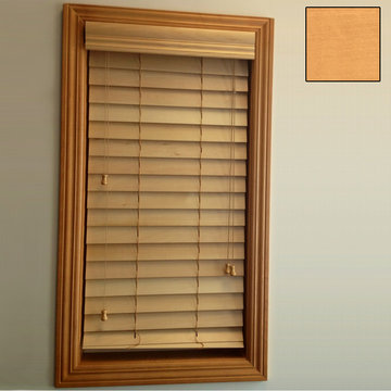 Restorers 2 1/2 Inch Horizontal Stained Basswood Blind - Natural