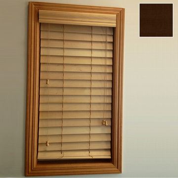 Restorers 2 1/2 Inch Horizontal Stained Basswood Blind - Espresso