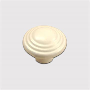 Century Hardware Alps Ringed Ceramic Knob - 1 3/8 Inch