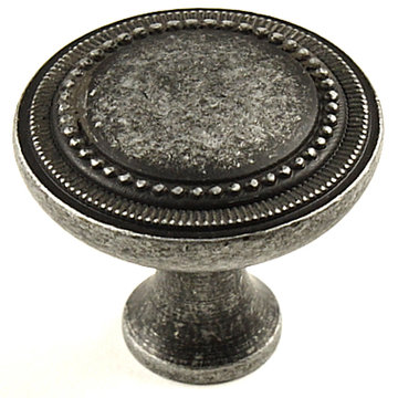 Century Hardware Kentwood Beaded Die Cast Knob - 1 1/4 Inch