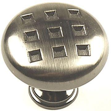 Century Hardware Majestic Large Geometric Die Cast Knob - 1 3/8 Inch
