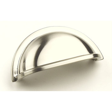 Century Hardware Milan Classic Die Cast Cup Pull - 3 Inch