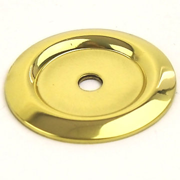 Century Hardware Saturn Solid Brass Backplate - 1 1/4 Inch