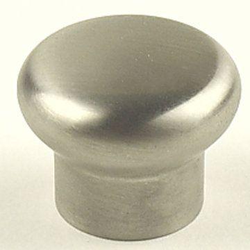 Century Hardware Stainless Steel Mushroom Knob - 1 3/16 Inch