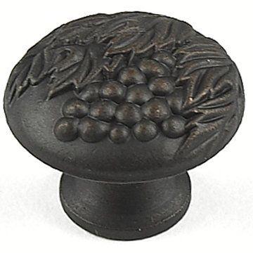 Century Hardware Vineyard Grapevine Solid Brass Knob - 1 3/8 Inch