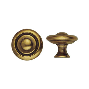 Classic Hardware 1800 Circa Brass Classic Cabinet Knob