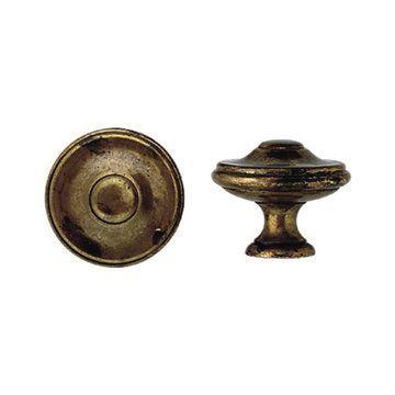 Marella 1800 Circa Brass Round Cabinet Knob
