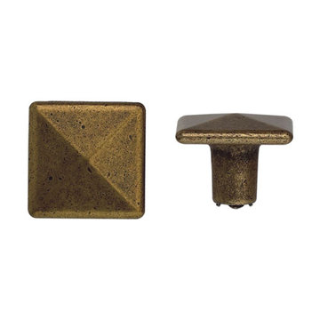 Classic Hardware Antique Square Cabinet Knob