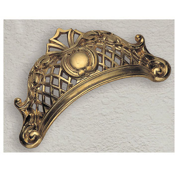 Classic Hardware Baroque Series Royal Cup Bin Pull