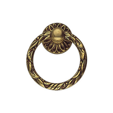 Classic Hardware Louis Vi Brass Ring Pull