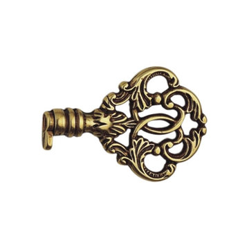 Classic Hardware Louis Xvi Brass Fake Key