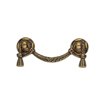 Classic Hardware Louis Xvi Swag Brass Drop Pull