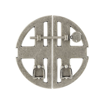 Classic Hardware Oriental Circle Left & Right Cabinet Pulls - Pair