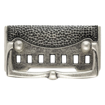 Classic Hardware Oriental Series Drop Pull With Textured Backplate