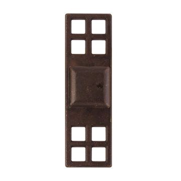 Classic Hardware Oriental Series Square Cabinet Knob With Backplate